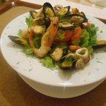 """fresh """"fisherman's"""" salad"""