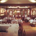 La salle à manger de l'Imparfait.