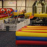 mechanical bull, bungee tampolines