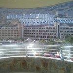 Vistas a los complejos hoteleros desde la habitación