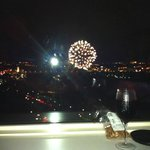 Victoria Day Fireworks, best seat in the house
