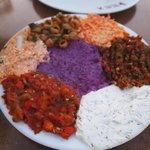 assiette d'entrée divers turque