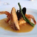 beachclub seafood trio dinner