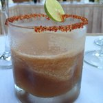 tamarind margarita at chef's dinner