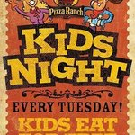 Kid's Night every Tuesday