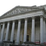 Front view of the Fitzwilliam Museum