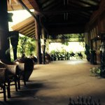 Reception area at Inle Lake View Resort