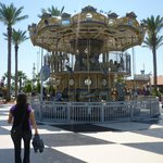 Kemah Boardwalk carousel