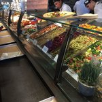 Great selection of salads and side dishes.