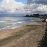 Sandy beach nearby