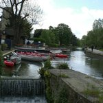 Boats for punting the River Cam