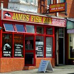 James' Fish Bar, Colwyn Bay