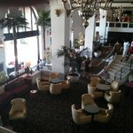 The lobby hangout