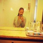 Selfie in room bathroom