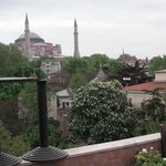 From the Roof Terrace. Hagia Sofia.