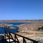 view from Comino tower