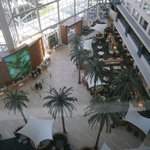 View of the lobby from room 653