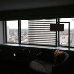 Corner room, nice 21st floor view