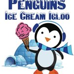Penguins Ice Cream Igloo