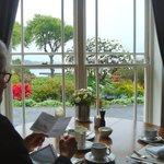 Frühstück mit Stil und schöner Aussicht