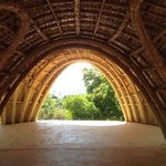 inside the handmade structure - amazing
