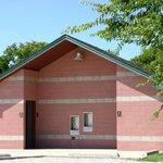 Restroom facilities at Stewart Creek Park