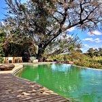 Infinity pool com essa vista linda