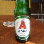 Home beer €2.50