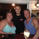 Our bartender George - he makes the BEST mudslides!