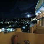 Balcones por la noche