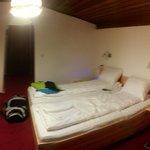 Schlichtes Zimmer aber sehr sauber...