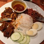 Traditional Pennang cuisine in the Spice cafe