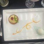 Traou breton coulis citron et gingembre + sorbet