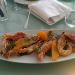 Seafood crustaceans