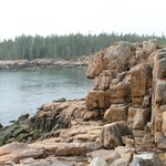Large rocky shoreline to explore