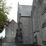 Particolare esterno della chiesa