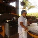 one of the very talented chefs, Olga