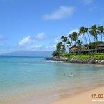 Napili Beach, proximo ao hotel