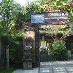 Entrance to Dewangga Bungalow