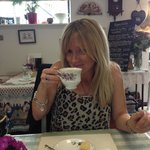 Tea & cake in a vintage, high end customer focused experience loved it can't wait to work our wa