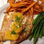 Almond Crusted Trout