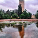 The Koutoubia Mosque from the pond that used to be a place for Wudhu