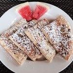 The famous banana pancakes