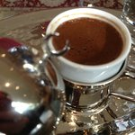 Turkish Coffee in the lobby area