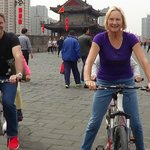 Tandem tour of City Wall