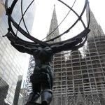 Sculpture at the Rockefeller Centre