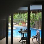 our room overlooking the pool