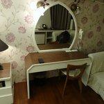 Bedside mirror