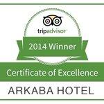 Winner - tripadvisor 2014 - Certificate of Excellance