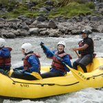 Rafting in Peru